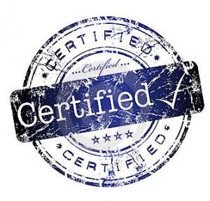Certified Bona Fide